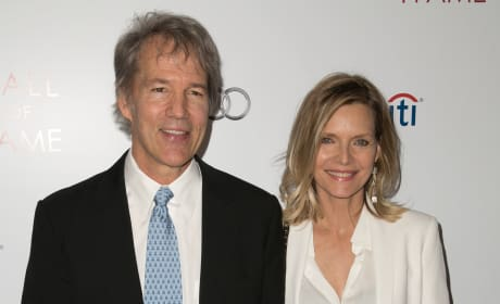David E. Kelley and Michelle Pfeiffer Photo