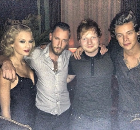 Taylor Swift with Harry Styles