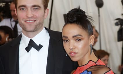 FKA Twigs and Robert Pattinson Make Red Carpet Debut