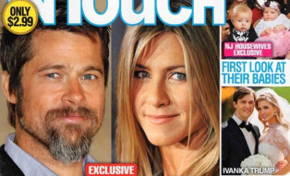 Tabloid: Brad Pitt Running Back to Jennifer Aniston!