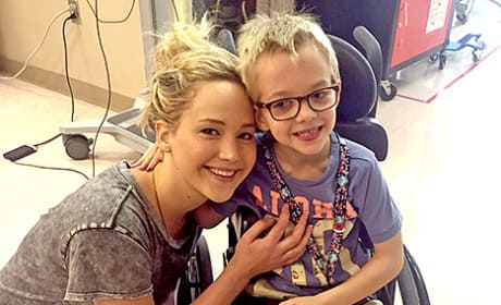 Jennifer Lawrence with a Patient