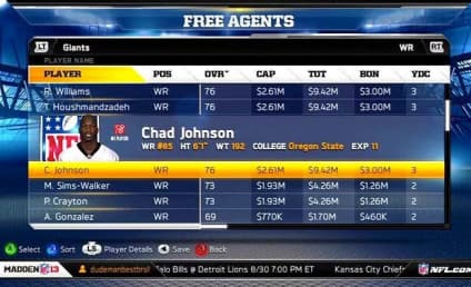 Chad Johnson Madden Tweet Laments Virtual Release
