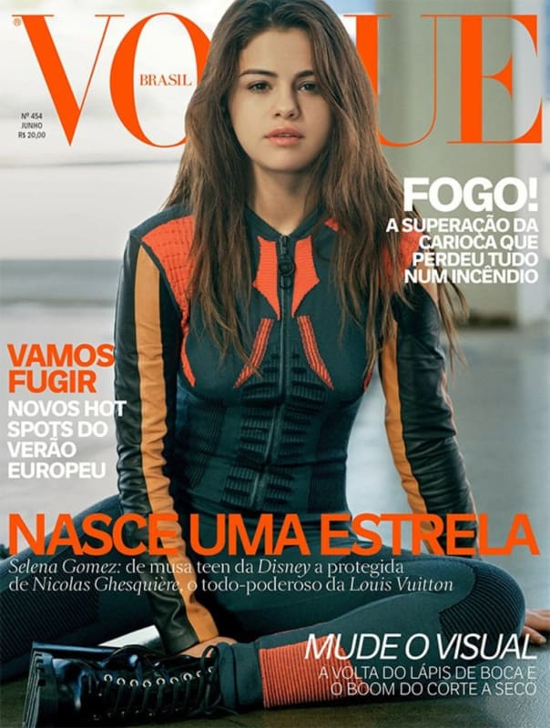 Selena Gomez Vogue Brazil Cover