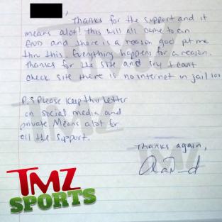 Hernandez Letter #2
