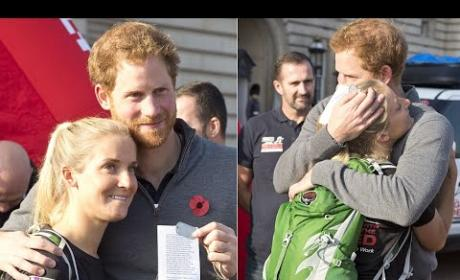 Prince Harry Receives Amazing Gift From Injured Vet