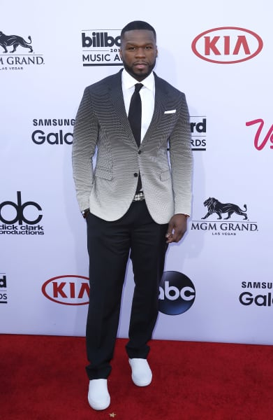 50 Cent at Billboard Music Awards