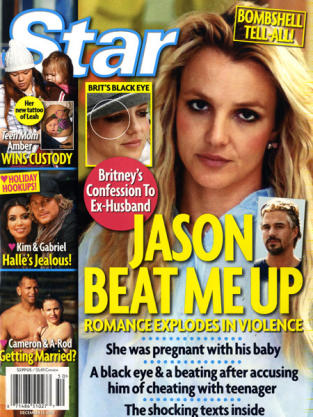 Jason Trawick-Britney Spears FIGHT!