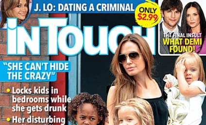 "Angelina Jolie ""Can't Hide the Crazy,"" Friends Say"
