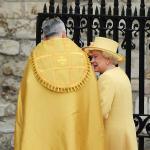 Queen Elizabeth at the Royal Wedding