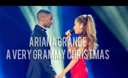 Ariana Grande Performs With Big Sean at A Very Grammy Christmas: Watch!