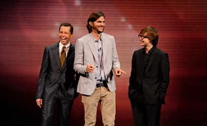 Ashton Kutcher on Two and a Half Men: Jackpot!