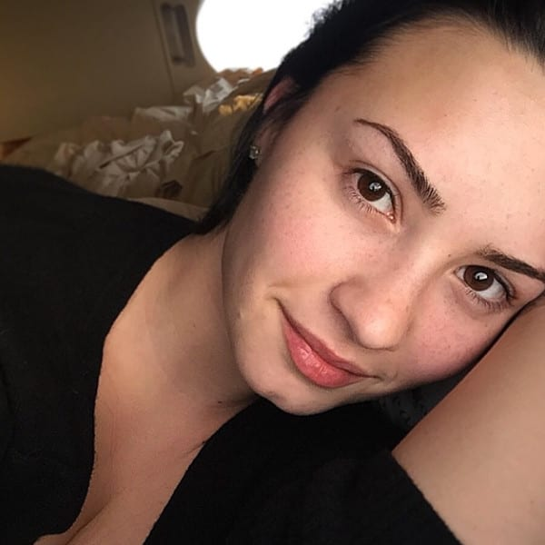 Demi Lovato With No Makeup