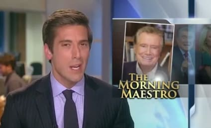 Regis Philbin Signs Off, Speculates on Replacement