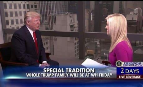 Donald Trump on Fox & Friends