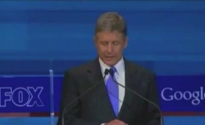 Gary Johnson Zings President Obama at GOP Debate