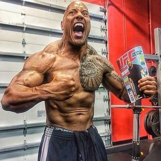 Dwayne Johnson Shirtless Pic