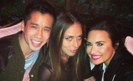 Demi Lovato Cast: Rocker Chic!