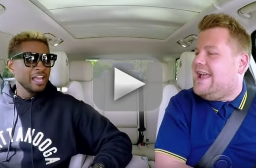 Usher on carpool karaoke teaching james corden to dance discussi