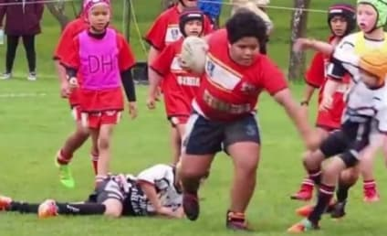 Meaalofa Te'o: 9-Year-Old Rugby Kid DESTROYS Competition in Insane Video! WATCH!