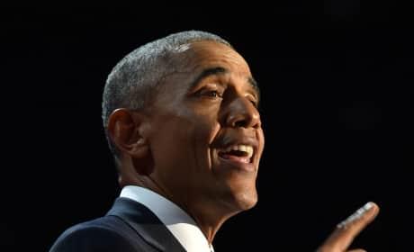 Barack Obama Farewell Address Photo