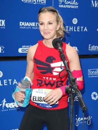 Sporty Elisabeth Hasselbeck
