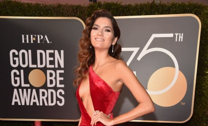 Blanca Blanco: Slammed For Revealing RED Dress at the Golden Globes