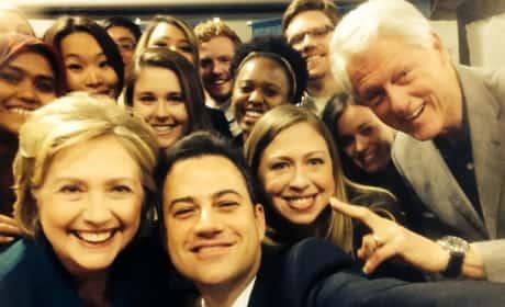 Jimmy Kimmel, Clintons Selfie