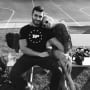 Britney Spears and Sam Asghari, Black and White