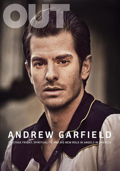Andrew Garfield for OUT