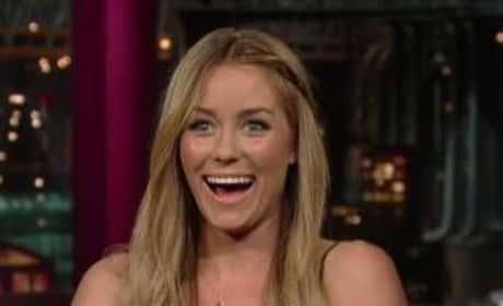 Lauren Conrad on Letterman