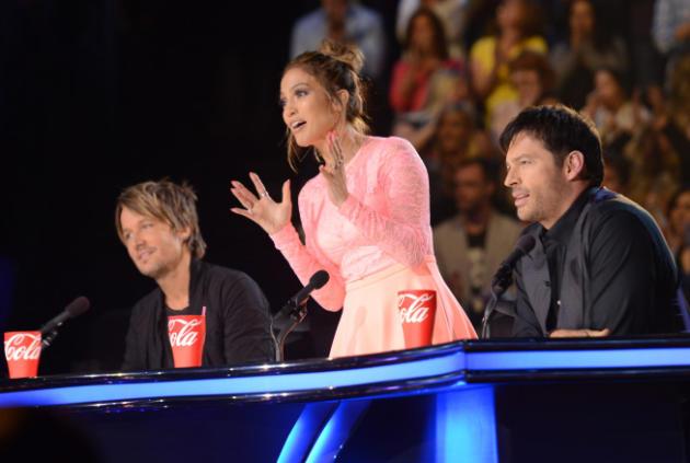 Jennifer Lopez on Idol