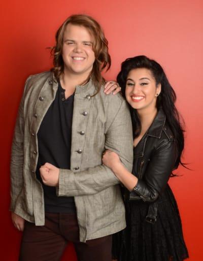Jena Irene and Caleb Johnson