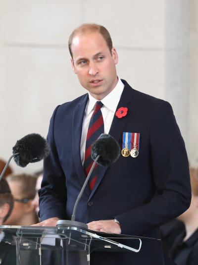 Prince William at a Mic