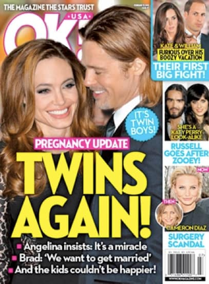 Angelina Jolie: It's Twins!