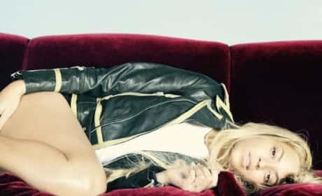 Beyonce's Seductive Pose