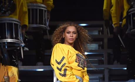 Beyonce on Coachella Stage