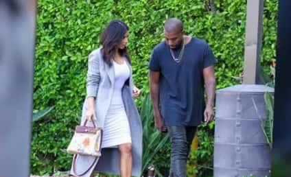 Kim Kardashian Karries North West-Designed Handbag: Watch the Video!