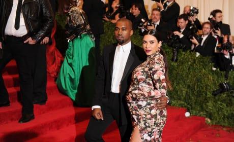Kanye West and Kim Kardashian: 20103 Met Costume Institute Gala