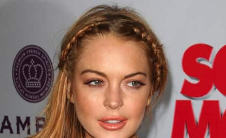 Lindsay Lohan: Clubbing With Miley Cyrus!