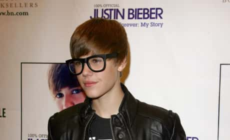 The Biebs and his Book