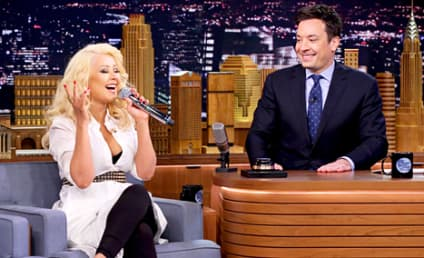 Christina Aguilera Does AMAZING Impression of Britney Spears: Watch Now!