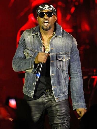 It's Kanye!