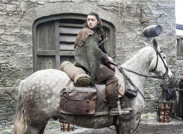 Arya on the Move