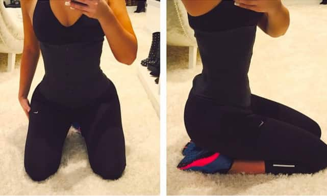Khloe Kardashian Waist Photos