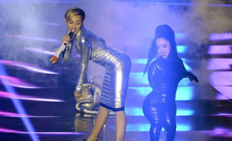 What do you think of Miley Cyrus smoking pot in stage?