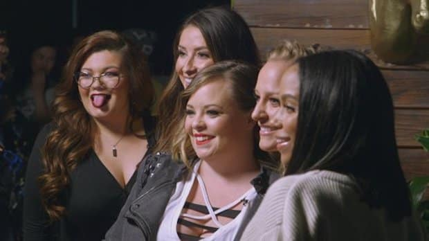 Teen mom og cast photograph