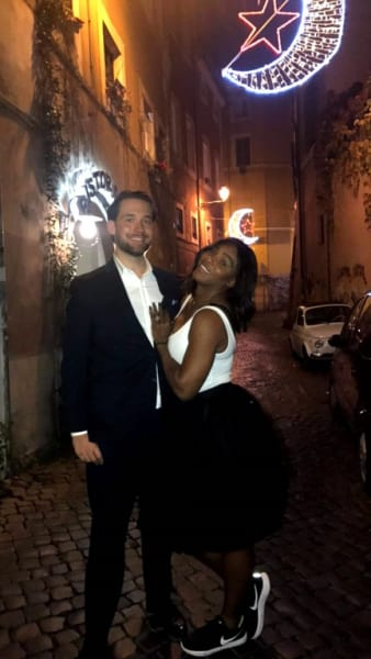 Serena Williams & Alexis Ohanian After Being Engaged