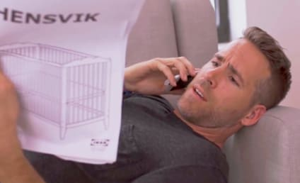 Ryan Reynolds Can't Put Together an IKEA Crib, Either