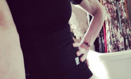 Madonna Crotch Shot