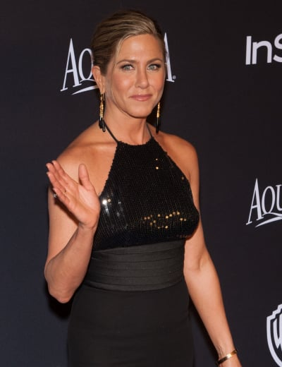 Jennifer Aniston at Golden Globes Party